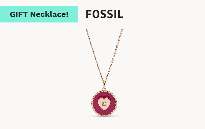 the Fossil necklace