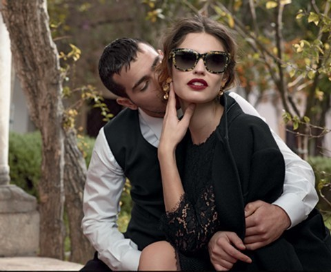 Dolce & Gabbana sunglasses: Golden Leaves collection