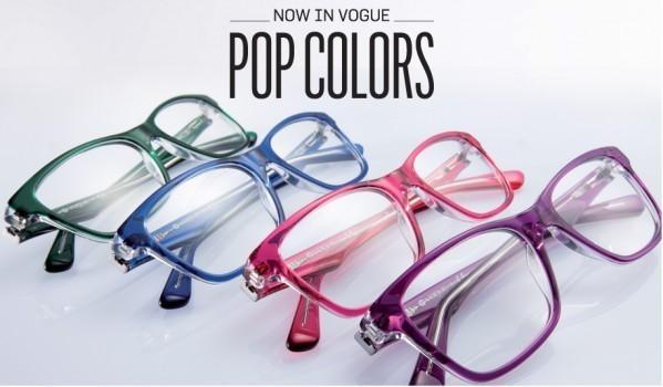 Vogue Eyewear presents the Pop Color Special Edition