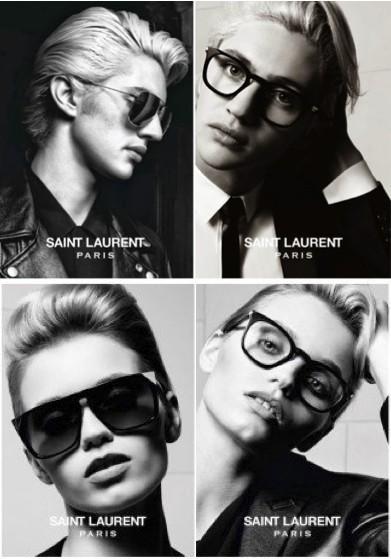 Saint Laurent eyewear spring/summer 2014