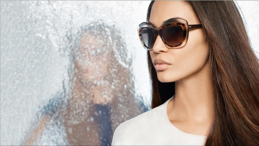 Fendi spring/summer 2014 eyewear collection: contrasting colours and dimensions with iconic details