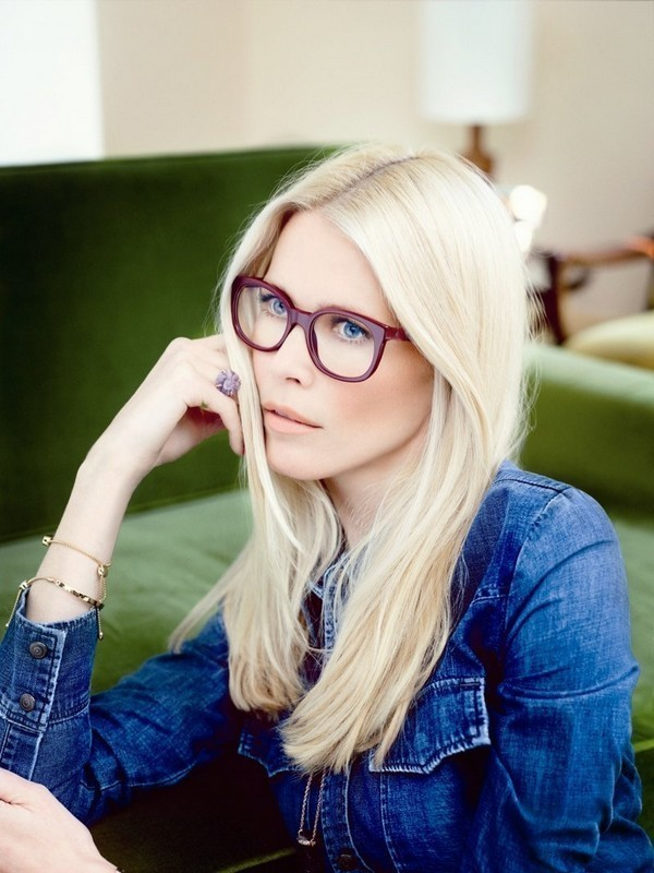 Claudia Schiffer by Rodenstock: eyewear suitable for a top model