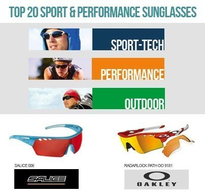 Top 20 Sport & Performance sunglasses