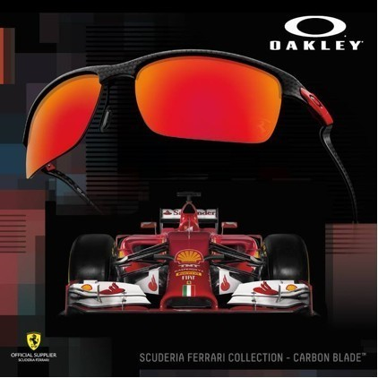 Oakley team up with Scuderia Ferrari: driven to perfection with the latest sunglasses collection