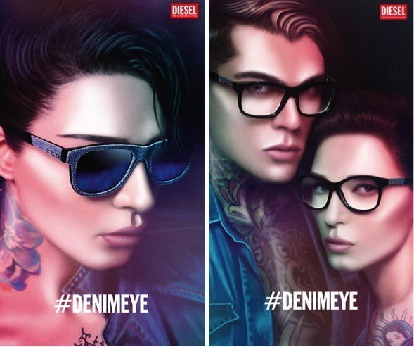 Diesel Denimeye eyewear collection