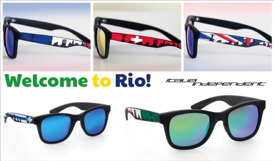 Welcome to Rio! Sunglasses dedicated to the Fifa Football World Cup 2014