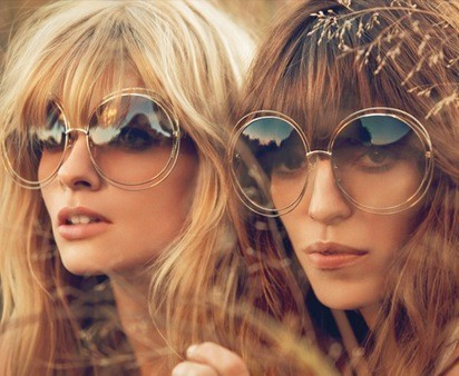 Chloé Sunglasses collection for the Summer 2014