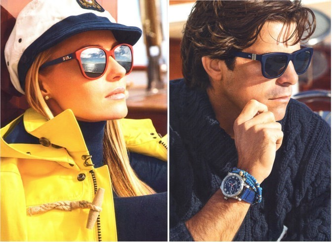 Sail away with the Polo and Ralph Lauren Nautical Collection