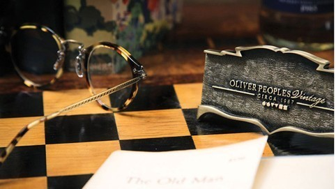 "Oliver Peoples vintage collection: return to the past for our future with a ""vintage mood"""