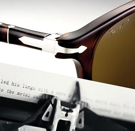 Be part of the legend with the new Persol Typewriter collection!