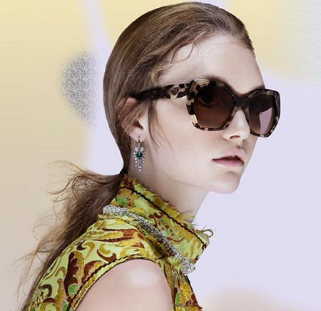 Prada eyewear collection: the vintage triumph