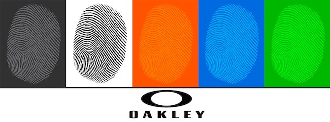 Oakley Fingerprint Sunglasses Collection: long-term markers of identity