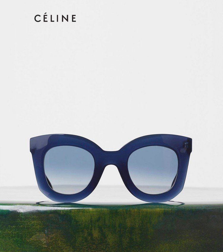 Novelty and style, for the Céline Fall/Winter 2015/2016 eyewear collection