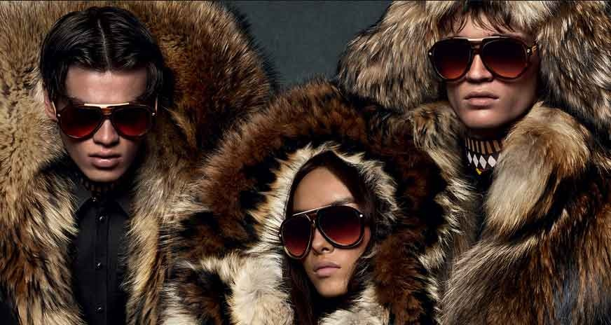 Alternative luxury with the new DSQUARED2 fall/winter 2015/16 eyewear collection
