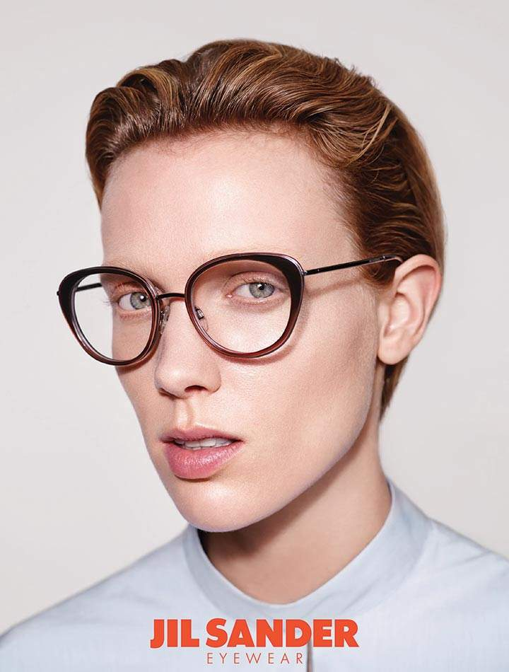 Jil Sander and her extraordinary and unique eyewear collection