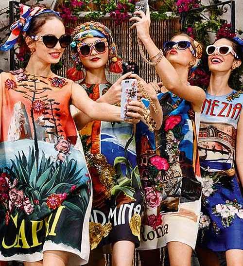 Dolce & Gabbana Sicilian Carretto eyewear