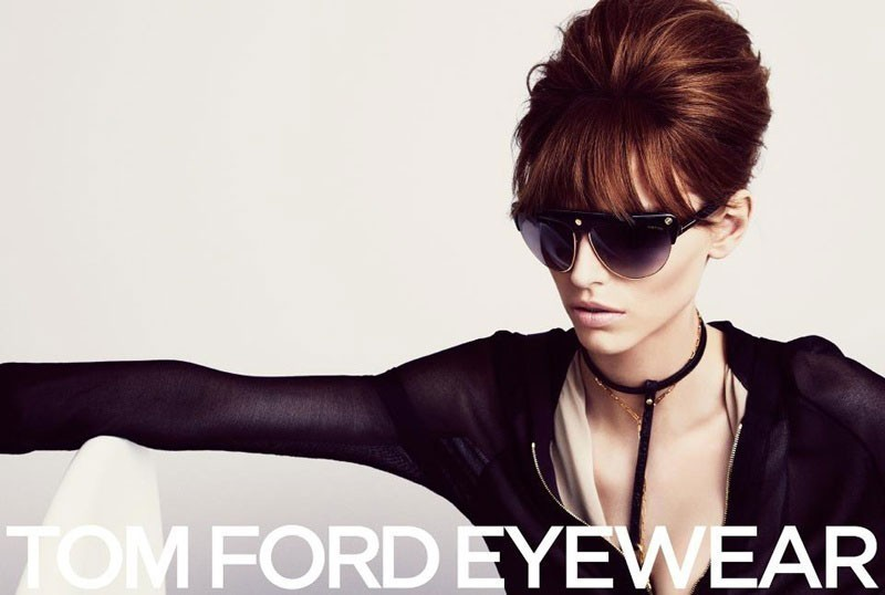 With his latest sunglasses collection Tom Ford takes us back to the future