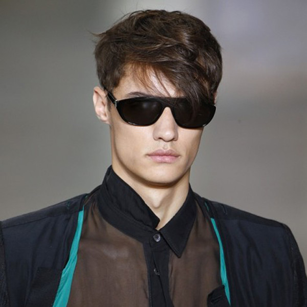 Ann Demeulemeester sunglasses by Linda Farrow