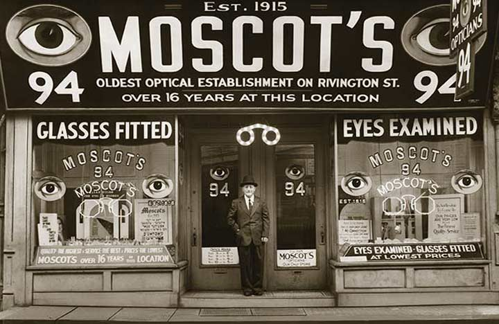 Moscot Eyewear: a classic has arrived