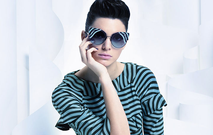 Let's paint winter season with Fendi's latest eyewear collection