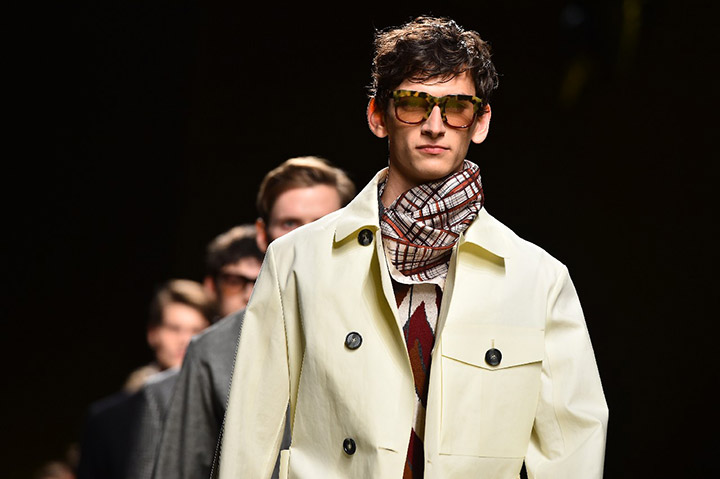 Milan's fashion week: new sunglasses