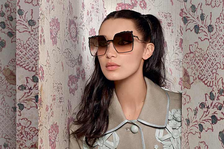 Fendi eyewear: in the sky with Rainbows!