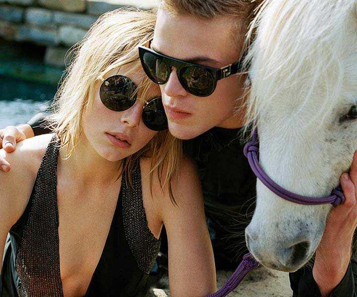 Versace sunglasses: #frenergy