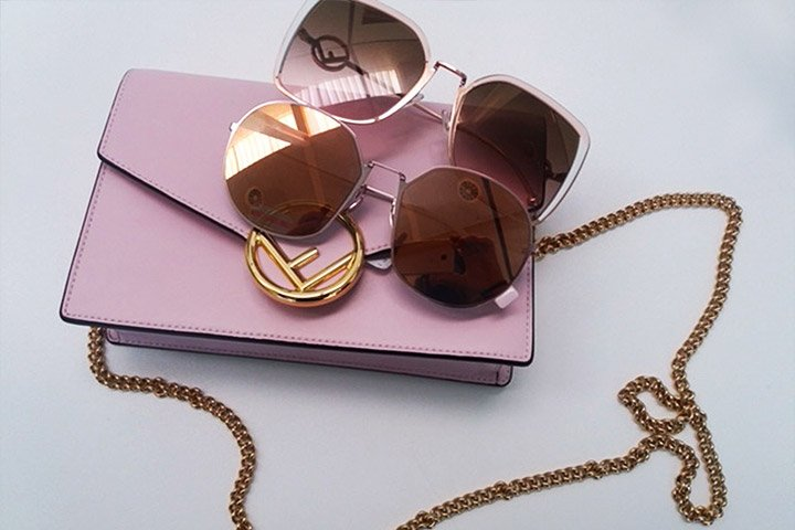 Fendi Sonnenbrillen RIBBONS AND PEARLS FF 0295S LIGHT