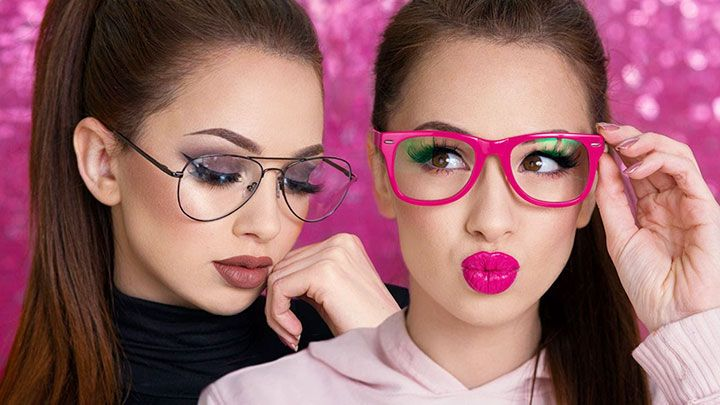 MAKE-UP with eyeglasses… Why not?