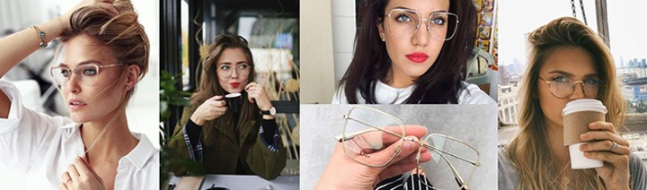 Metal eyeglasses: they are back and they are amazing!