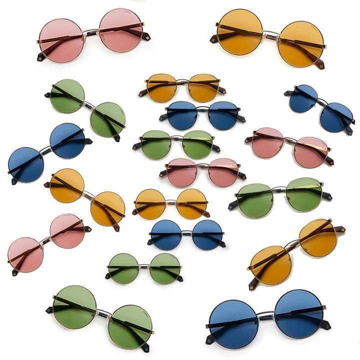 Pastel-colored lens sunglasses for any season and style