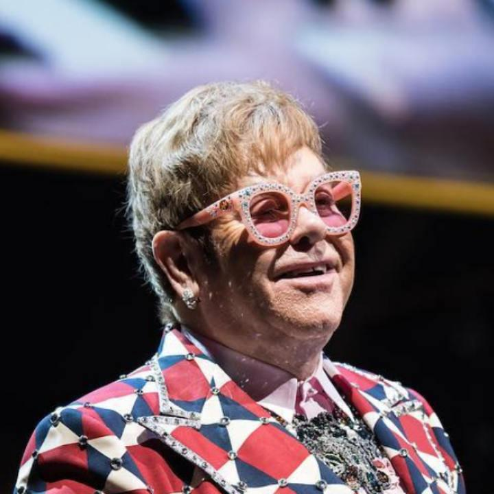 Elton John and his most fashionable glasses