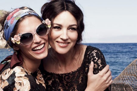 Dolce & Gabbana sunglasses: a Sicilian summer with stripes and flowers