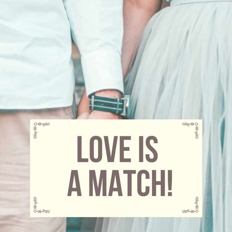 Love is a match! Sunglasses for him and for her for a matching look!