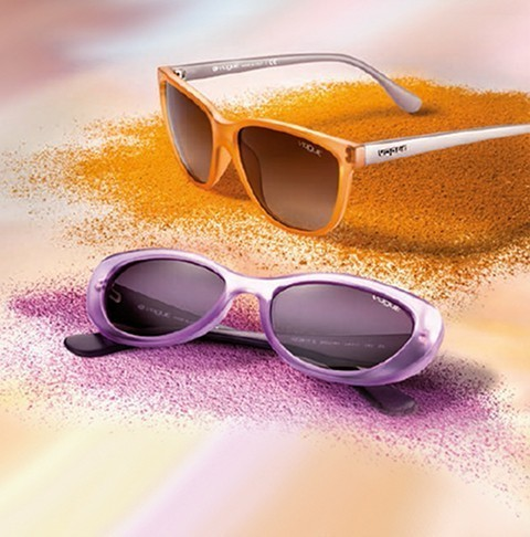 Vogue eyewear: a colourful collection for summer