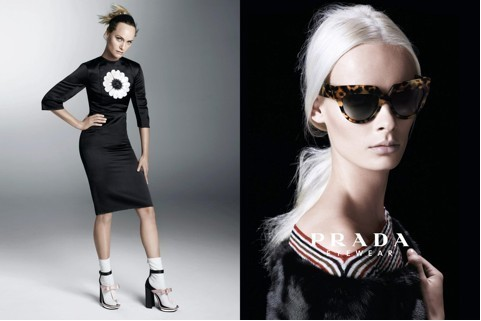 Prada eyewear collection: Deluxe Poeme edition