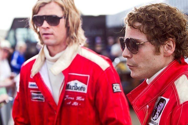 Niki Lauda and the movie Rush starring Carrera sunglasses