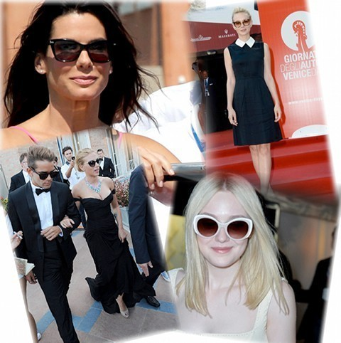 Prada, Miu Miu and Persol sunglasses at the 70th Venice Film Festival
