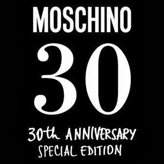 Special edition sunglasses for Moschino's 30th birthday