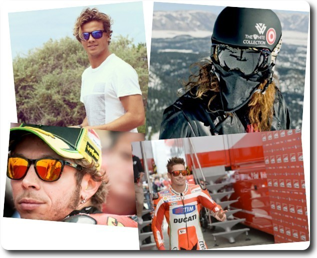 Oakley signatures: sunglasses for athletes