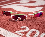 Oakley gears up for the Olympics with the Green Fade Eyewear Collection