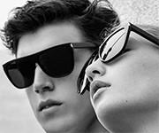 Saint Laurent FW 2016 Black Sunglasses