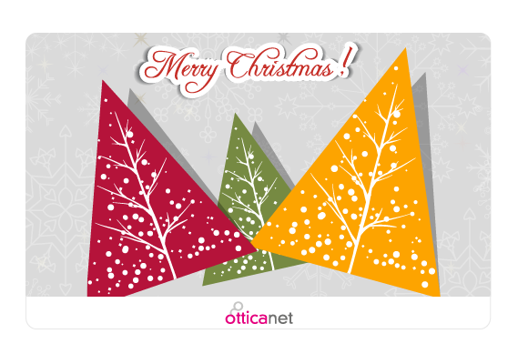 Merry Christmas Gift Card Otticanet
