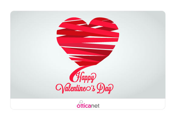 Be my Valentine Gift Card Otticanet