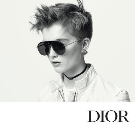 Christian Dior Lunettes de soleil Campagne publicitaire