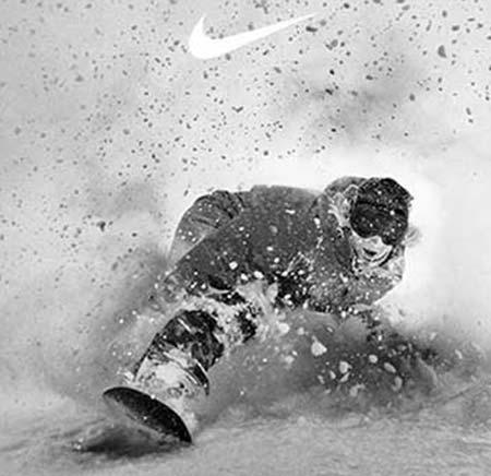 Nike Masques de ski Campagne publicitaire
