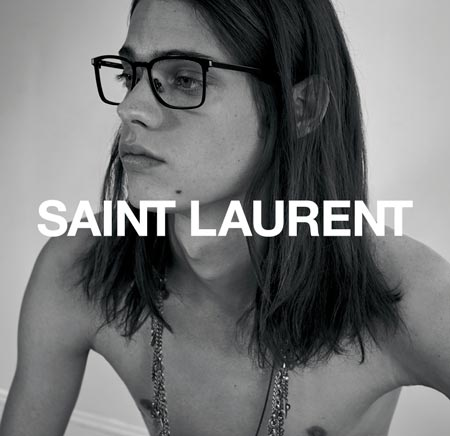 Saint Laurent Eyeglasses ADV
