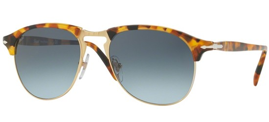 Persol CELLOR SERIES PO 8649S MADRETERRA/AZURE SHADED