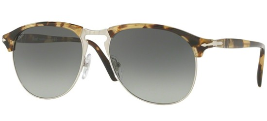 Persol CELLOR SERIES PO 8649S BEIGE TORTOISE/GREY SHADED