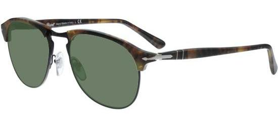 Persol CELLOR SERIES PO 8649S CAFFÉ/CRYSTAL GREEN